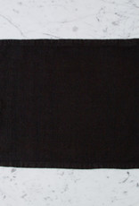 Heavy French Linen Placemat - Black