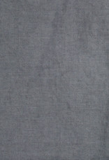 Washed French Linen Dish or Hand Towel with Hidden Apron Strings - Deep Grey