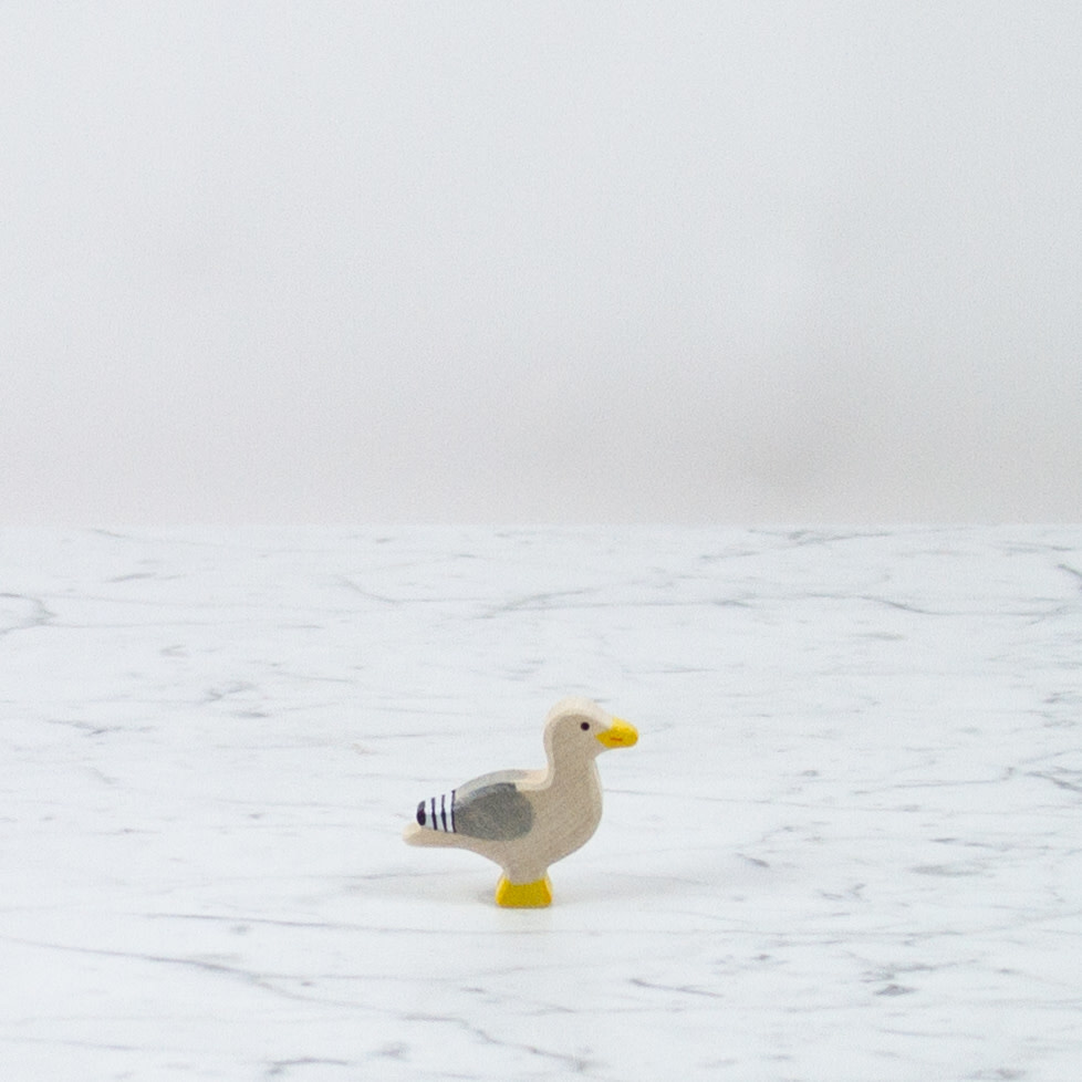 Holztiger Perky Little Grey Seagull