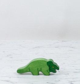 Holztiger Little Green Protoceratops Dinosaur
