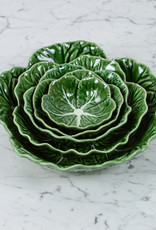 """Bordallo Pinheiro Bordallo Pinheiro Nesting Cabbage Bowl - Green - 6"""""""