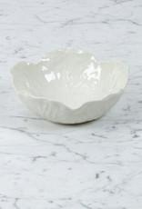 """Bordallo Pinheiro Bordallo Pinheiro Nesting Cabbage Bowl - White - 7"""""""