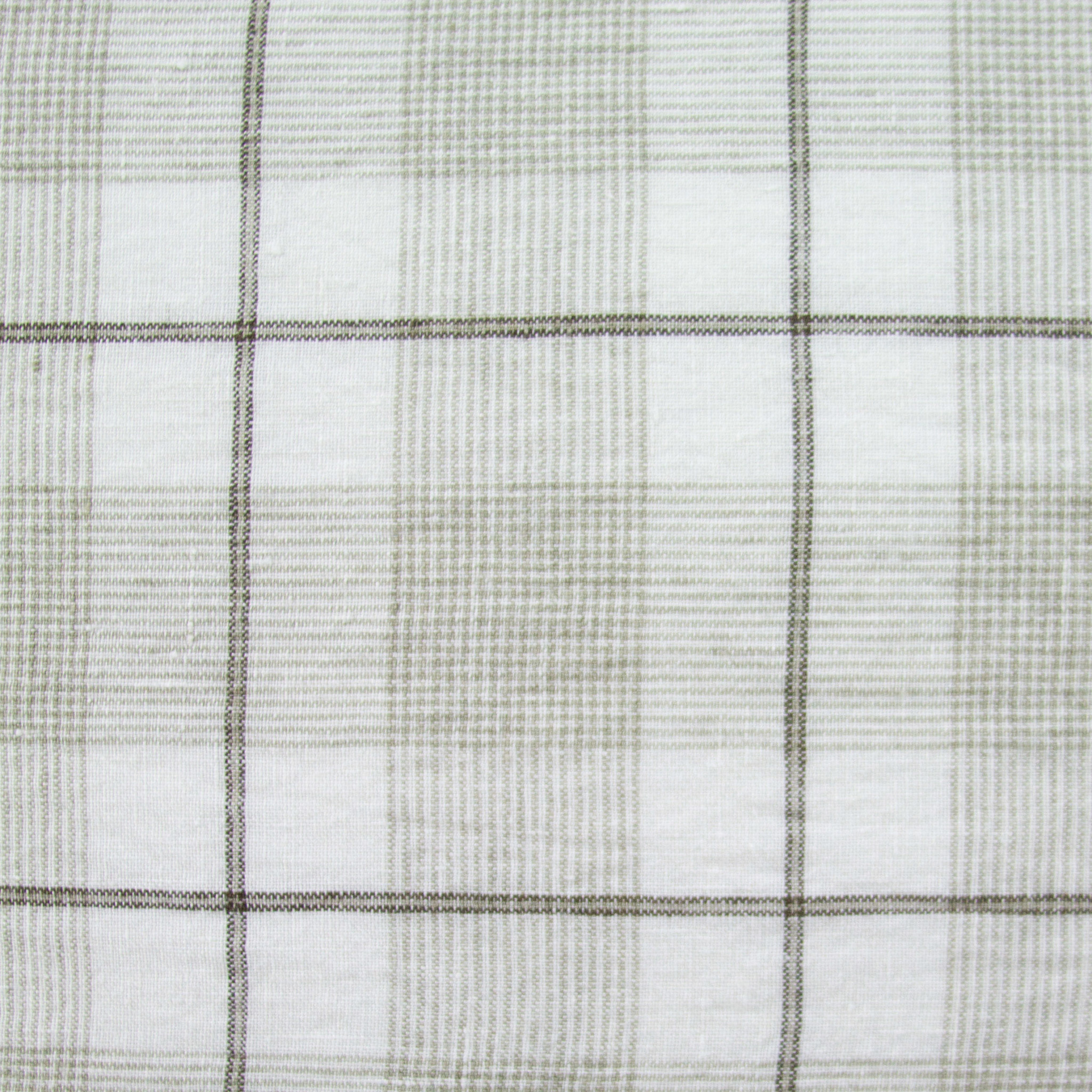 """20"""" Pillow COVER ONLY - Beige Large Checks"""