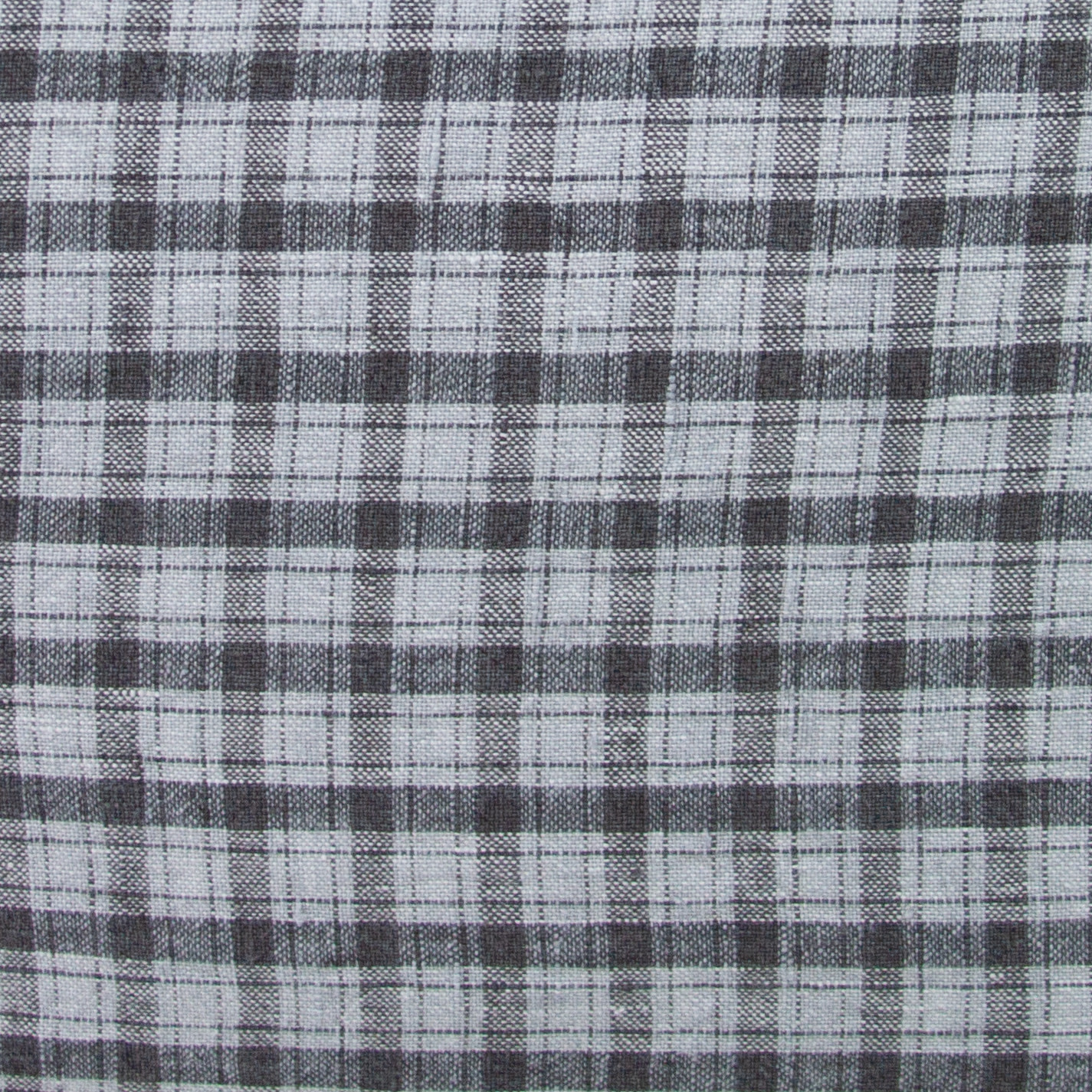 """20"""" Pillow COVER ONLY - Grey Small Checks"""