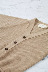 Petit Kolibri Alpaca + Cotton Knit Cardigan - Brown - 12-24 Month