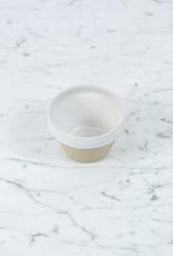 """Manufacture de Digoin Manufacture de Digoin White Prep Bowl - 4"""" - 1 Cup"""