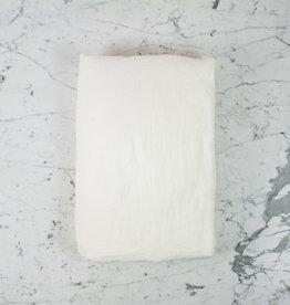 "Couleur Chanvre Hemp Duvet Cover - Queen - 95 x 87"" - White Limestone"