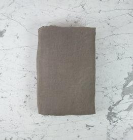 "Couleur Chanvre Hemp Duvet Cover - Queen - 95 x 87"" - Halong Bay Grey"