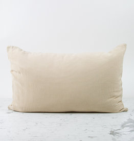 """Couleur Chanvre Hemp Pillowcase - Standard or Queen - 20 x 28"""" - Clay"""
