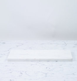 """White Marble Serving Board - Rectangle - 15"""""""