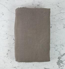"Couleur Chanvre Hemp Duvet Cover - King - 102 x 95"" - Halong Bay Grey"