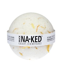 Buck Naked Bathbomb Energizing Marigold 140g/5oz