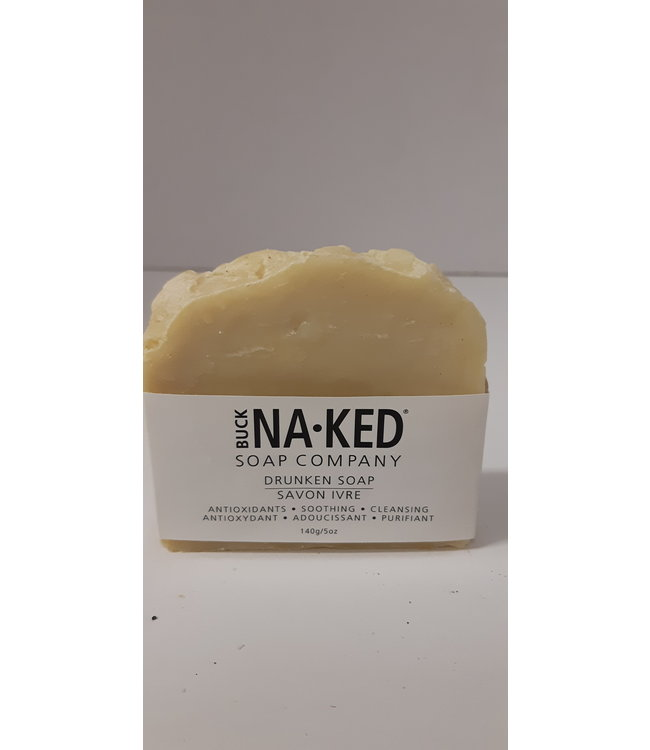 Buck Naked Soap  Drunken Soap 140g/5oz