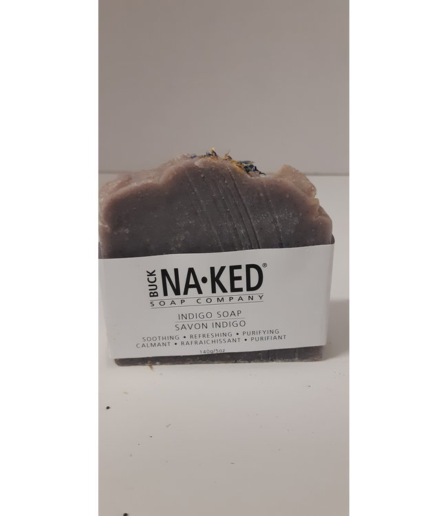 Buck Naked Soap Indigo 140g/5oz
