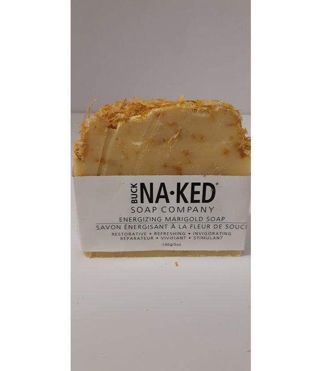 Buck Naked Energizing Marigold Soap 140g/5oz