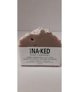 Buck Naked Soap Purple Brazilian Clay 140g/5oz