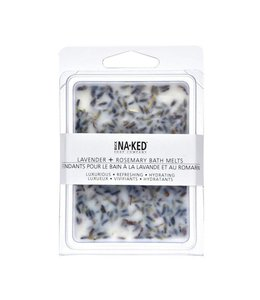 Buck Naked Lavender & Rosemary Bath Melts 80 mls /2.75 floz