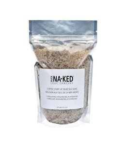 Buck Naked Salts Coffee Start Up Sea Soak 389ml/14 floz