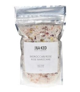 Buck Naked Moroccan Rose Salt Soak 389 ml/14 floz