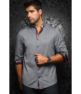 Au Noir Vega Dress shirt Silver