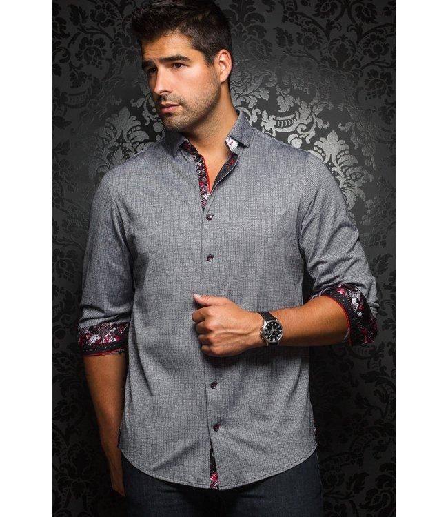 Au Noir Vega Dress shirt Silver