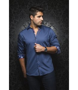 Au Noir Wilson Dress shirt -navy