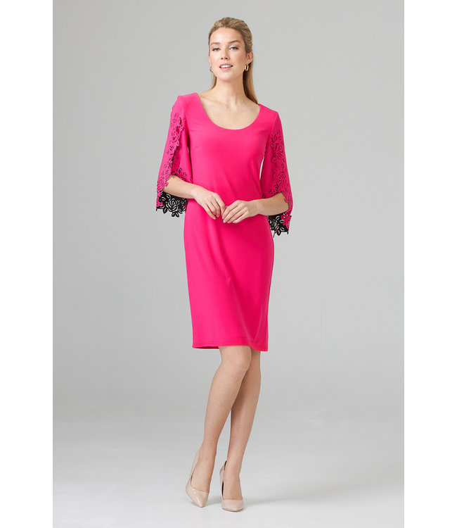 Joseph Ribkoff Dress Hyper Pink