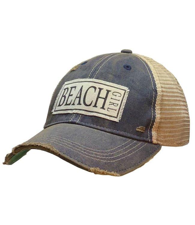 Vintage Life Hats Beach Girl