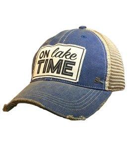 Vintage Life Hats On lake Time
