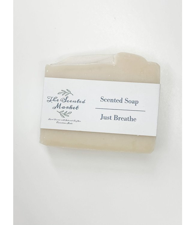 The Scented Market Soap Just Breathe