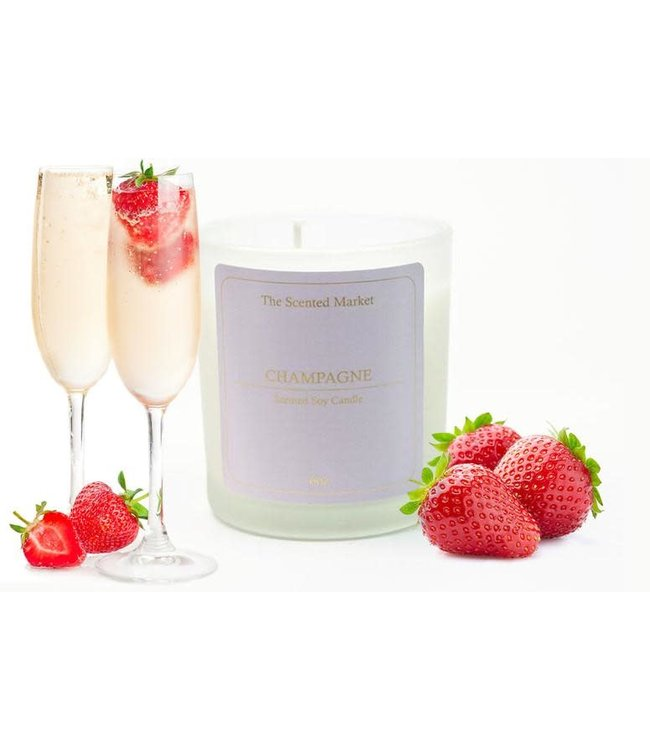 The Scented Market Cocktail Candle Champagne