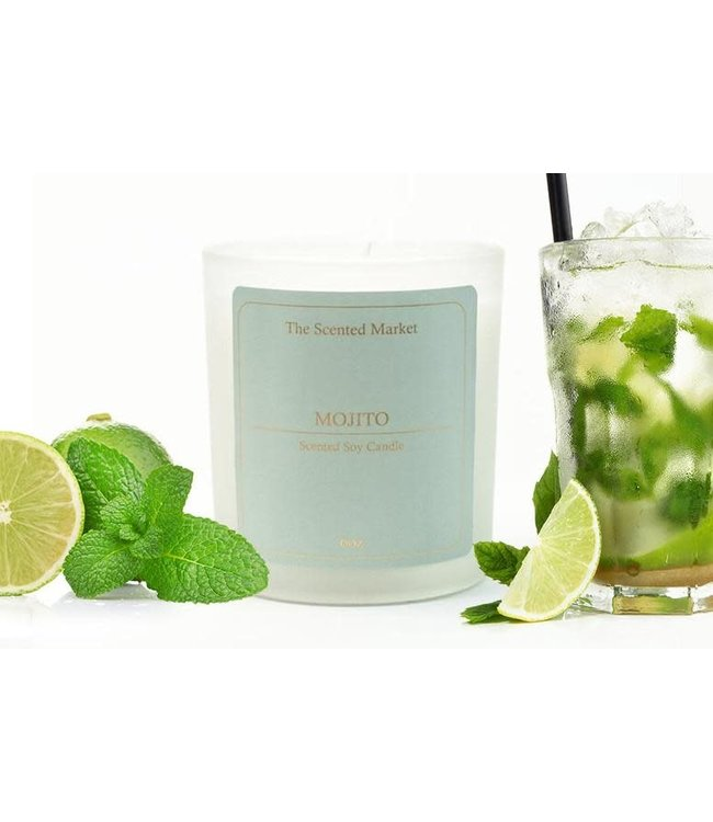 The Scented Market Cocktail Candle Mojito