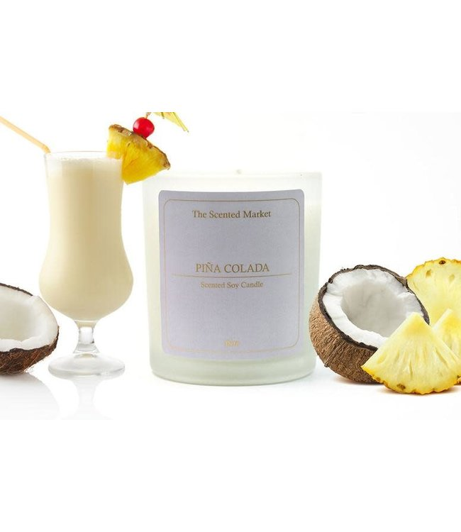 The Scented Market Cocktail Candle Pina Colada