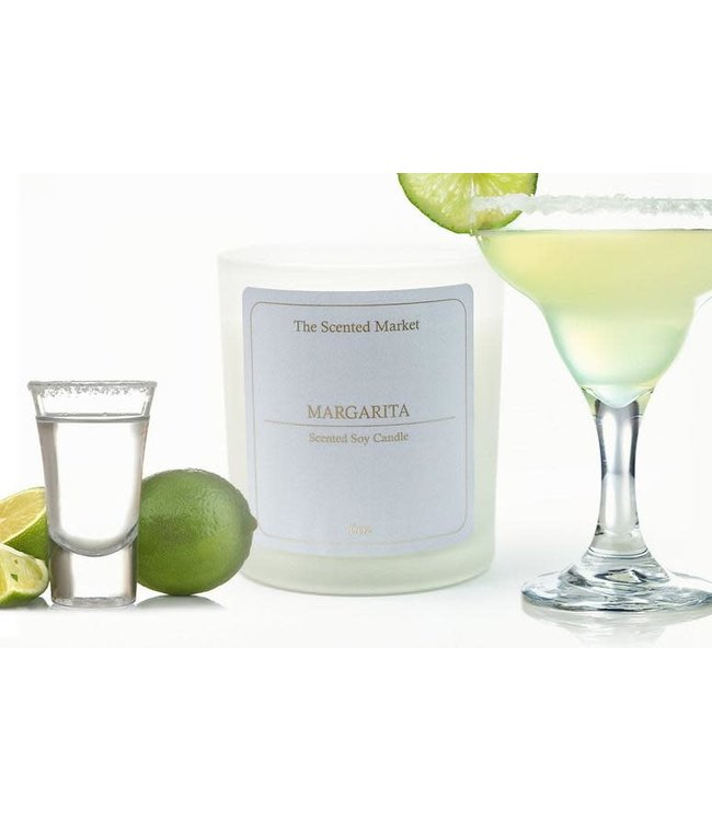 The Scented Market Cocktail Candle Margarita