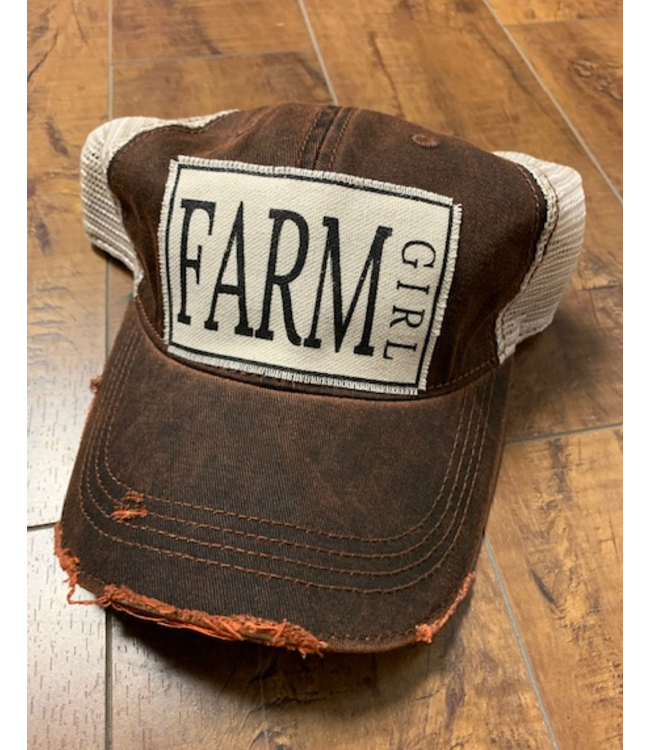 Vintage Life Hats Farm Girl