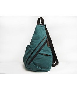DaVan Co. Canvas Sling/Backpack Turquoise