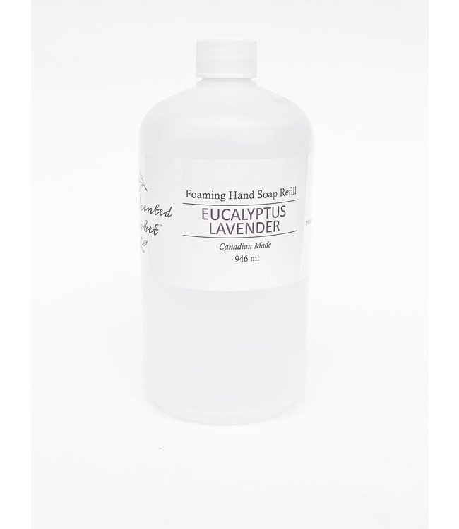The Scented Market Foaming Hand Soap Refill Eucalyptus Lavender