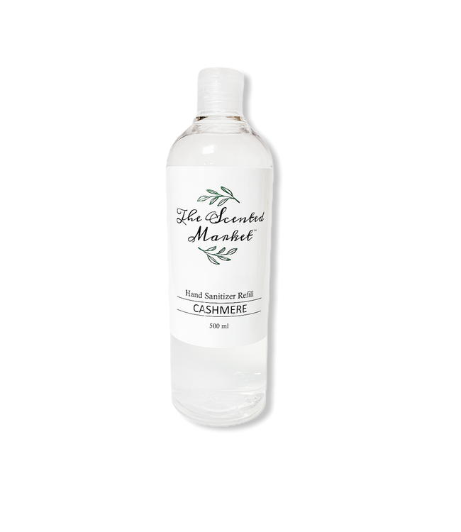 The Scented Market Hand Sanitizer Refill 500ml Cashmere