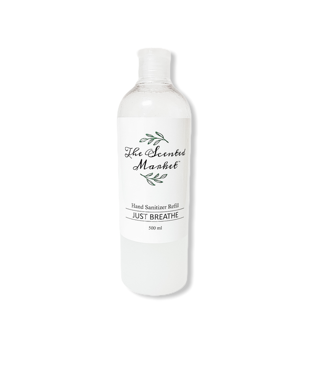 The Scented Market Hand Sanitizer Refill 500ml Just Breath