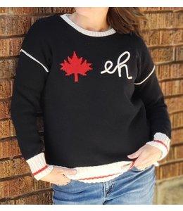 Parkhurst Canada Eh Pullover-black
