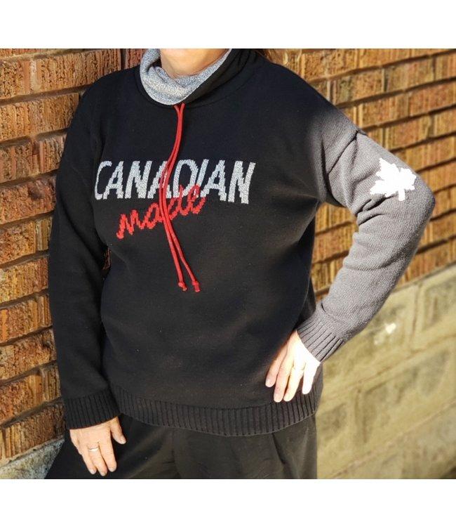 Parkhurst Canadian made drawstring-black