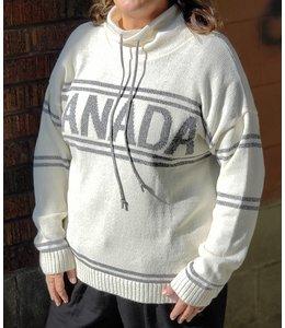 Parkhurst Canada drawstring- cream/grey
