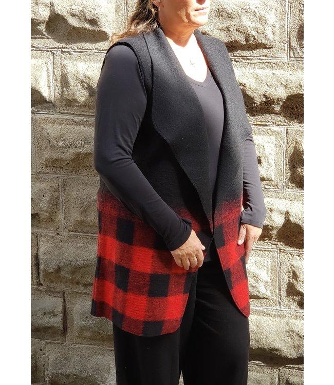 Parkhurst Check vest red