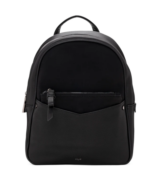 Co Lab Purses PUSuede Backpack Black