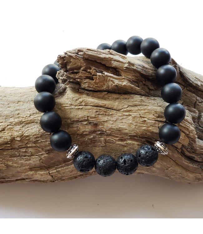Kristin's Beads Bracelet - Black Onyz