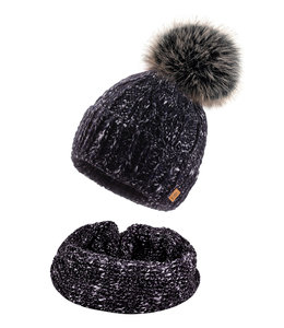 Woolk Hat & Scarf set-Mary