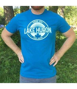 Here on Lake Huron T-shirt - Huron Hue
