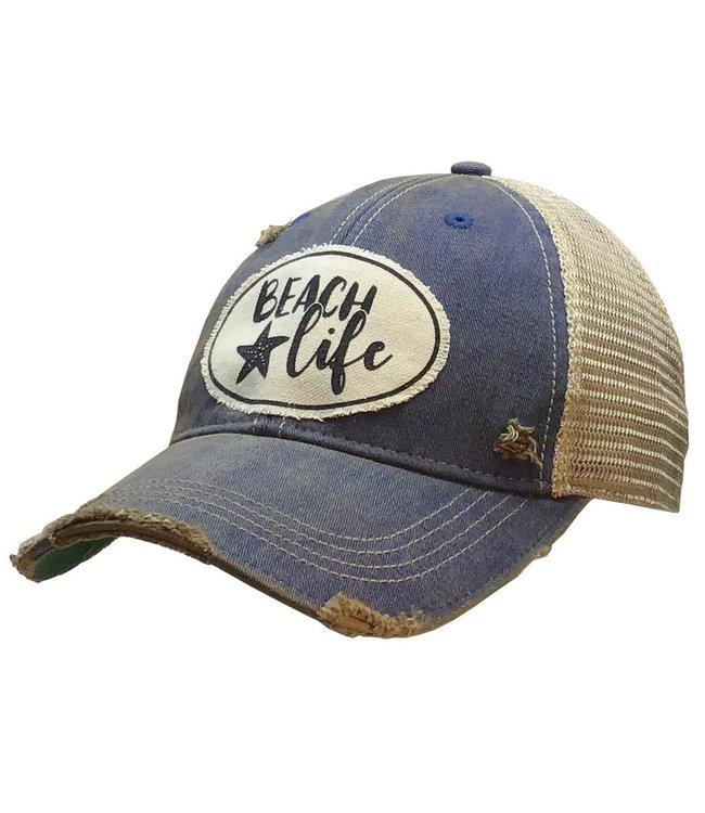 Vintage Life Hats Hats-Beach life