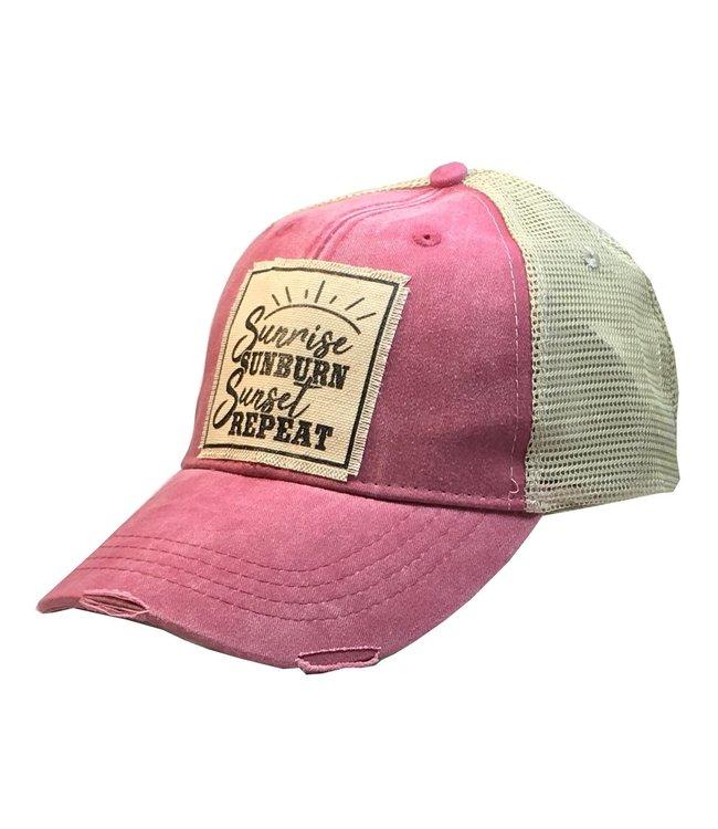Vintage Life Hats Sunrise,Sunburn,Sunset