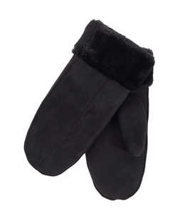 DKR and Apparel Mittens Black